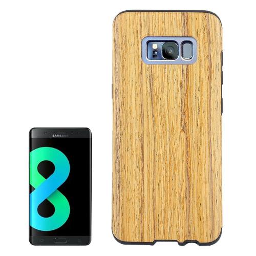 para galaxy s8 g955 madera proteccion samsung estuche suave
