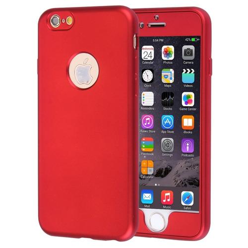 deb412b865f Para iPhone 6 Plus 6s 360 Grado Proteccion Estuche Completo - $ 950 ...