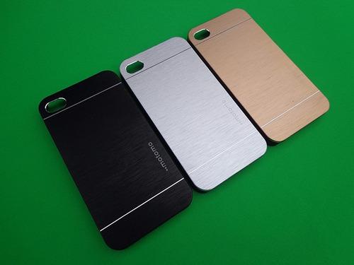 para iphone funda aluminio