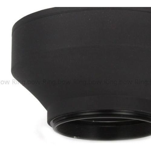 Phot-R Pro 52mm Goma Plegable Parasol para Lentes de Gran Angular
