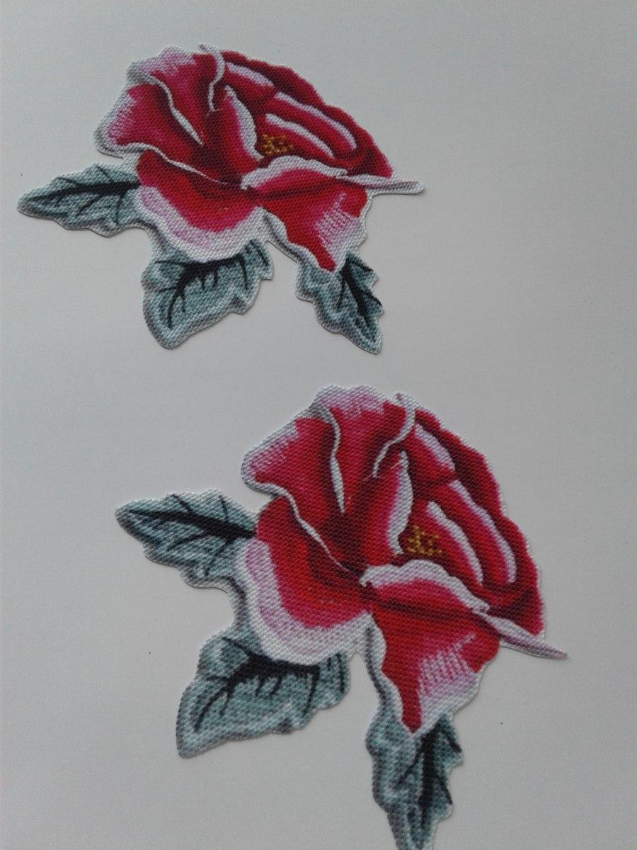 Parches Estampados Disenos De Rosas 5000 En Mercado Libre - Diseos-de-rosas