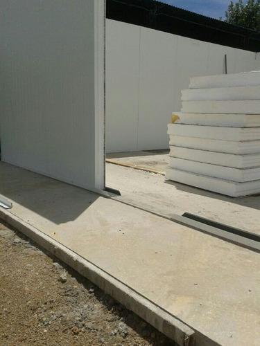 pared isopanel 10 cm - cieloraso listo para instalacion