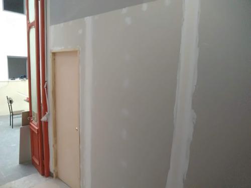paredes de yeso colocación de cielorrasos y pintura