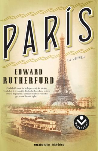 parís. la novela - edward rutherfurd (bolsillo)