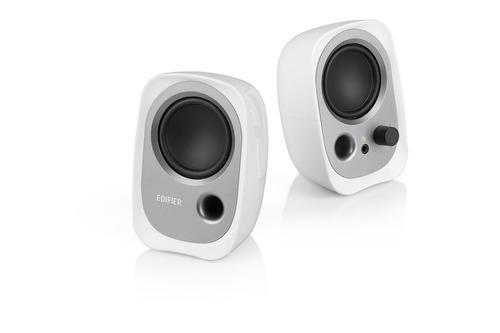 parlante 2.0 edifier r12u usb sonido balanceado blanco
