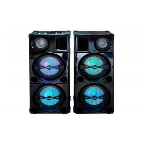 parlante activo/pasiv xion 38000w led usb bluetooth xixt88-2