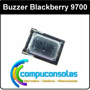 parlante altavoz buzzer blackberry 9700