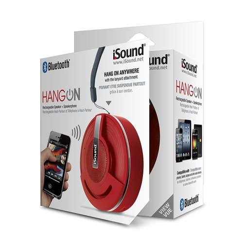 parlante bluetooth isound hang on bluetooth speaker with