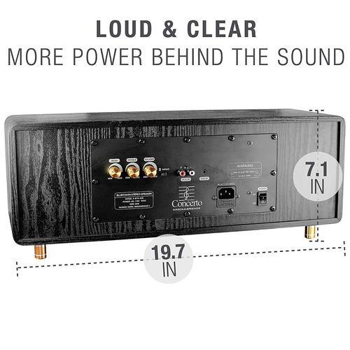 parlante bluetooth mediabridge concerto - bluetooth speaker