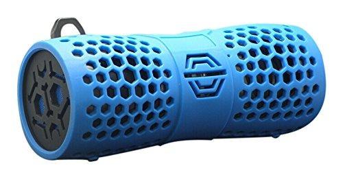 parlante bluetooth sylvania sp332-blue water resistant
