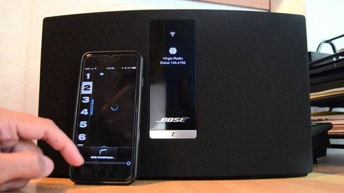 parlante bose soundtouch 20 wifi bluetooth 12 s/r amv