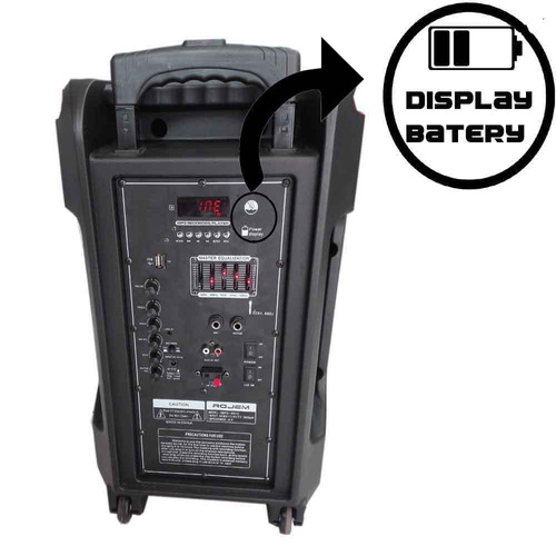 parlante de 12 10000 watts// bluetooth// radio fm // karaoke