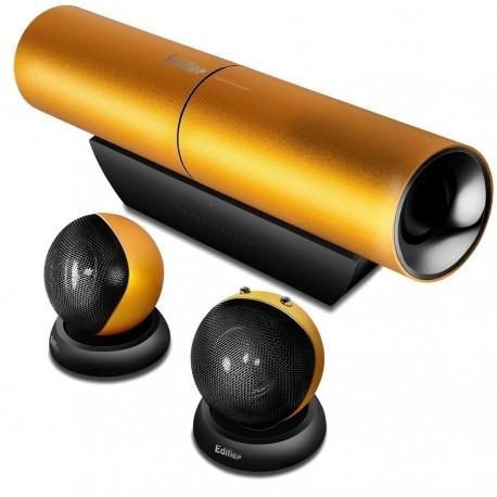 parlante edifier 2.1 aurora orange