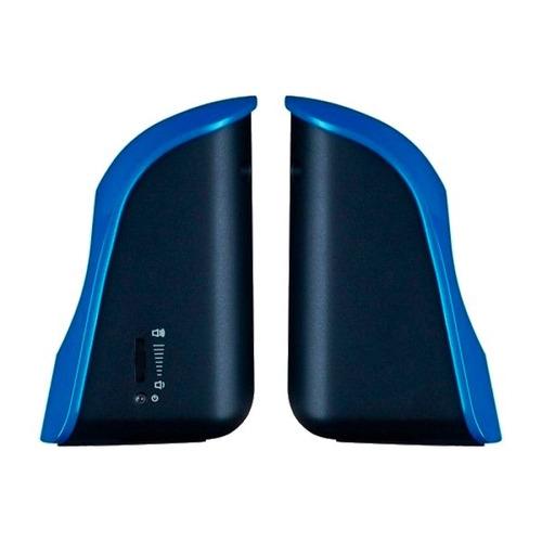 parlante genius usb azul modelo sp-u115 - oferta