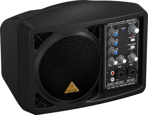 parlante monitor behringer b205d activo 150 watts 5,25´´