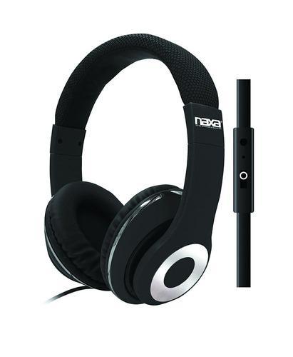 parlante naxa electronics ne-943blk backspin pro headphones