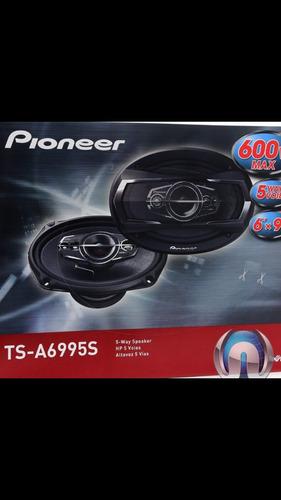 parlante pioneer tsa6995s 6x9 600w 5 ch,superior al tsa6986s