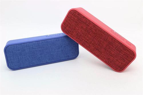 parlante portable bluetooth usb auxiliar fm micro sd colores
