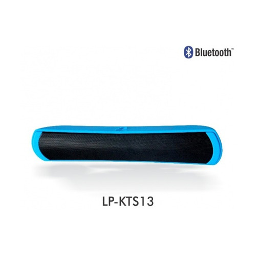 parlante portable bt 6w usb micro sd lp-kts13 ledstar dracma