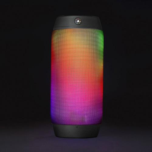parlante portátil con bluetooth y luces pulse 2 show