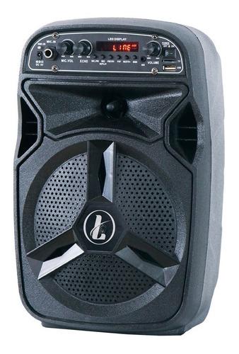 parlante portatil ledstar 6 bluetooth bateria futuro21 dimm