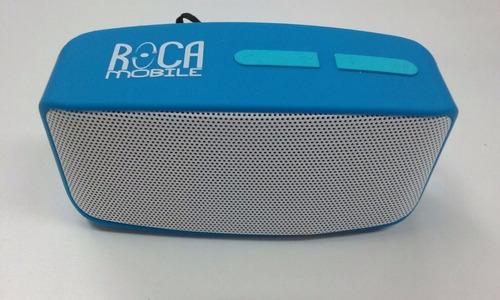 parlante radio portable roca recargable