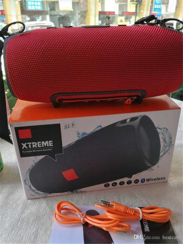 parlante tipo jbl xtreme bluetooth portable musica waterpool