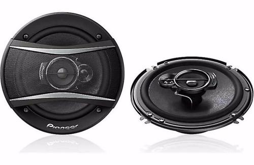 parlantes 6  pioneer 3 vias 320w max - 50w rms ts-a1676s