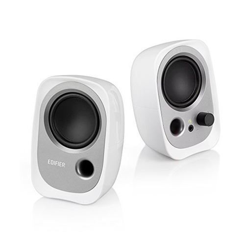 parlantes edifier 2.0 2w x2 conector auxiliar pc celular mp3
