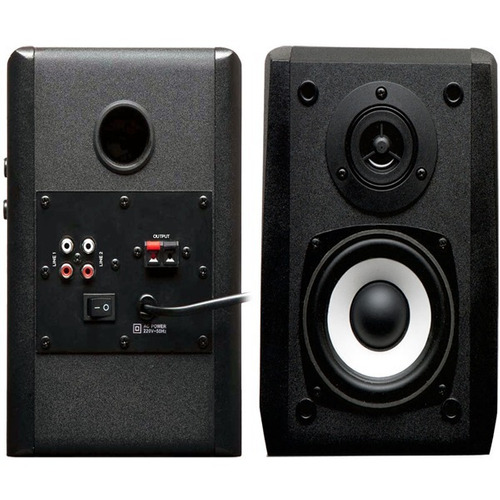 parlantes edifier 2.0 r1000t4 negro