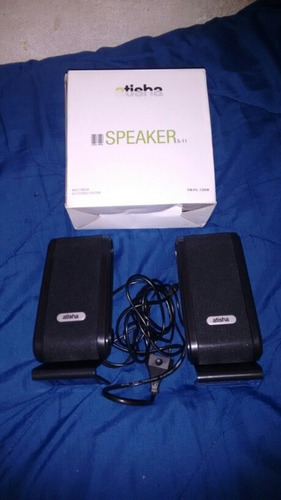 parlantes genericos para pc , celular,  etc. usb y 220volts