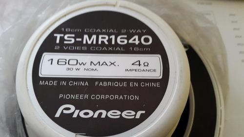 parlantes marinos pioneer ts-mr1640 máx.160w 2 vías náutico