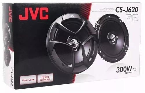 parlantes para auto jvc cs-j620 300w 16cm 2 vias - alarmasgf