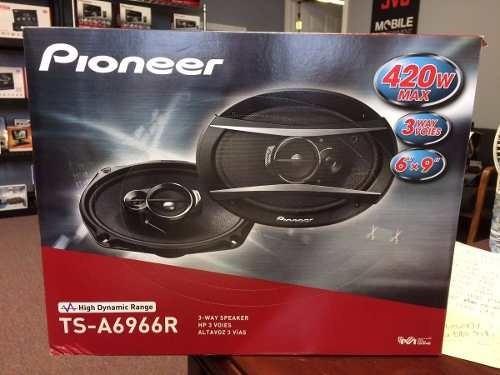 parlantes pioneer ts-a6966s 6x9 de 420w y 3 vías
