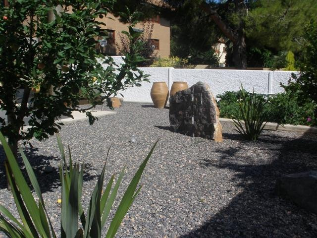 Parques Y Jardines Pedregullo Gris Piedra Gris Para Jardin - Piedra-jardin