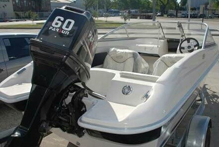 parsun nuevo 5hp dos tiempos con tanque externo de 8 litros