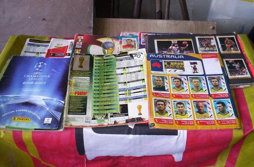 partes de albumes de figuritas de futbol.lea x favor...