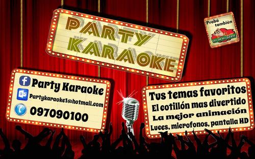party karaoke!! el mejor karaoke y animacion para tu fiesta.