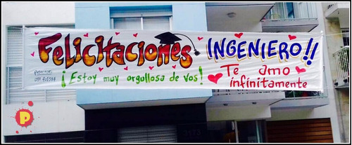 pasacalles - banners - impresos full color  4 m