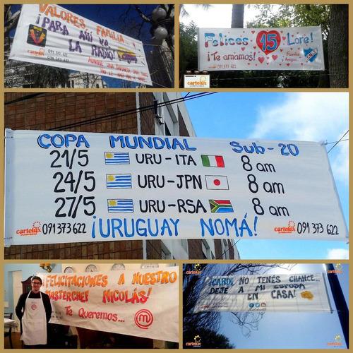 pasacalles pasa calles pancartas -  24hs diseño gratis