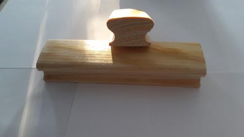 pasamano madera, precio por varilla.