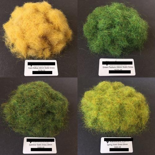 pasto estatico de 2, 4, 6 y 10mm diferentes colores