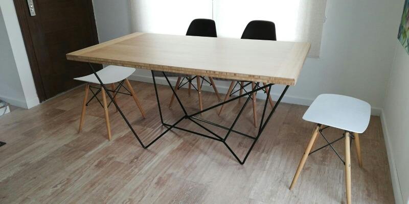 Patas Base Mesa Comedor Diseño Industrial - $ 6.500,00 en Mercado Libre