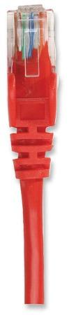 patch cat5e  3,0 m / 10 feet rojo intellinet