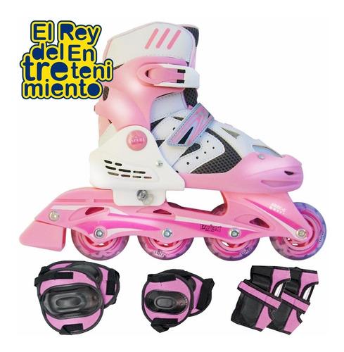 patin rollers extensible excelente talles y colores - el rey