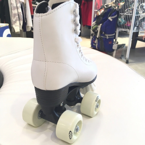 patines artìsticos knex blancos de pista talles del 29 al 42