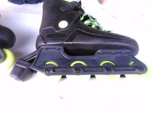 patines tipo roller con cordones y precinto. nuevos talle 38
