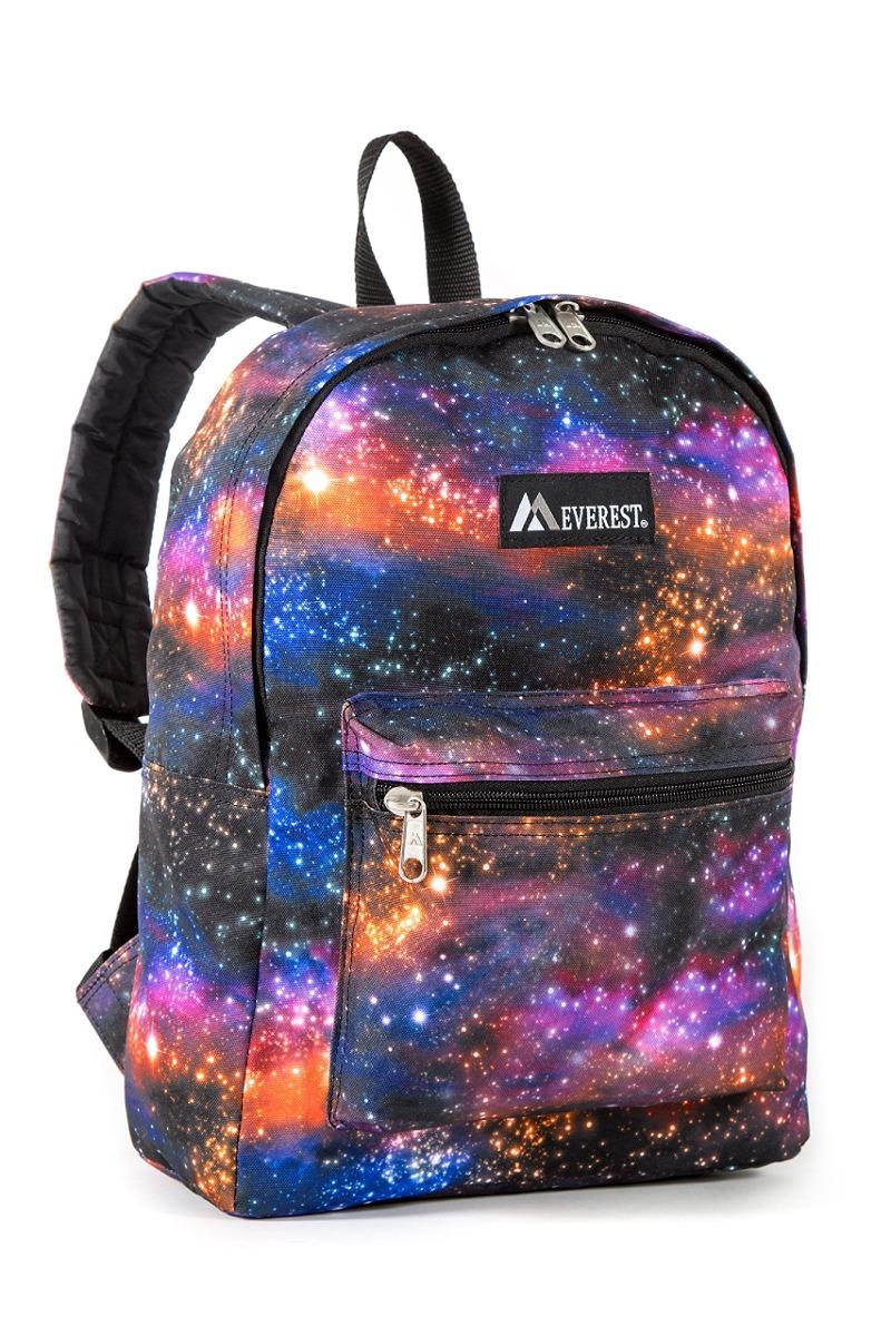 excepcional gama de estilos más baratas venta limitada Patrón Básico Mochila Everest Niños, Galaxia, Un Tamaño