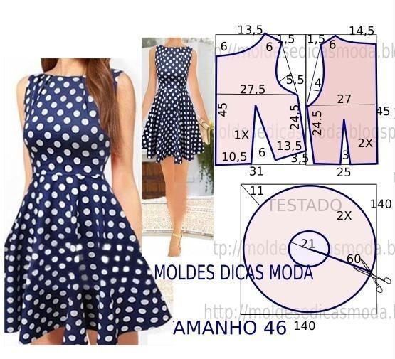 c5244c674 Patrones De Vestidos Para Niñas Todas Las Tallas Moldes Bebe -   699 ...