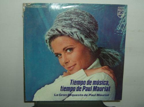paul mauriat tiempo de musica vinilo argentino